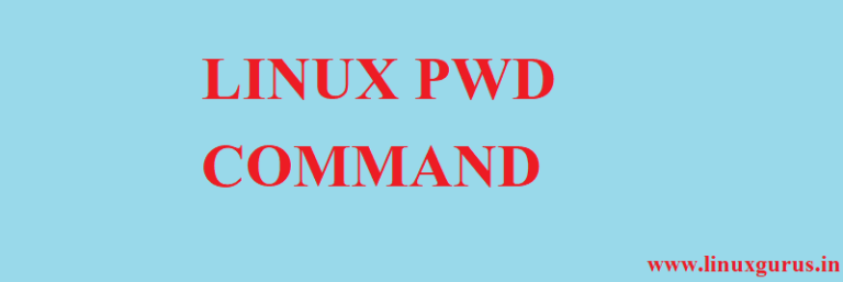 pwd command